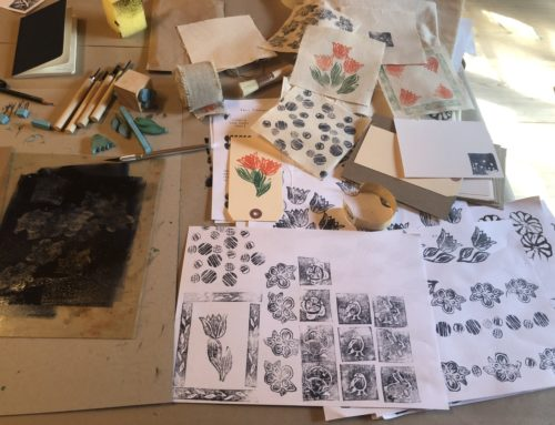 Stamping & stencilling